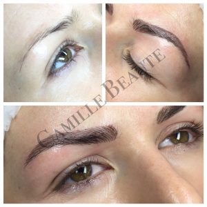 semi permanent eyebrows london