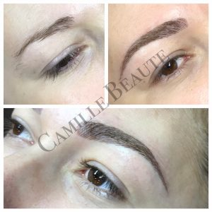 microblading eyebrows hair stroke eyebrows