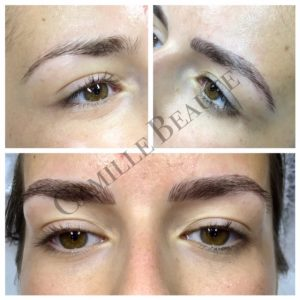semi permanent eyebrow