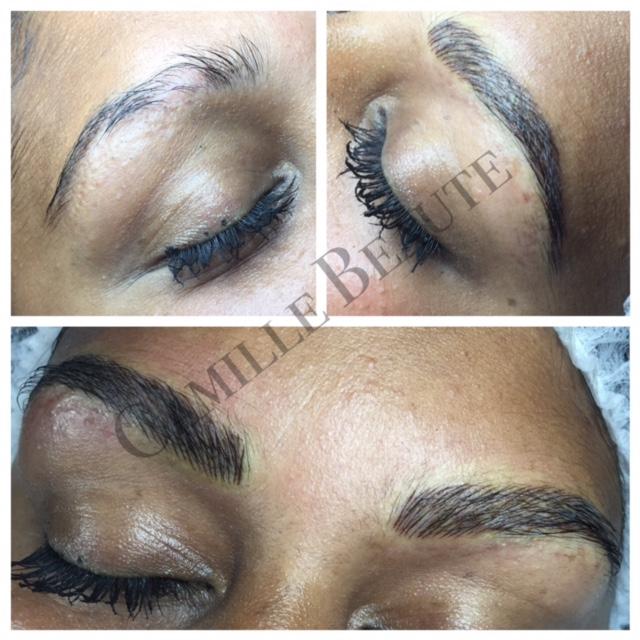 Semi Permanent Eyebrows London 033 Camille Beaute