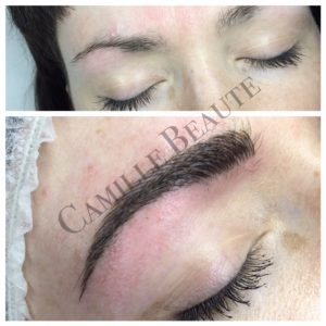 eyebrow embroidery london, microblading