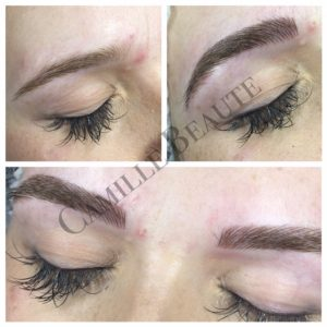 microblading eyebrows, semi permanent makeup