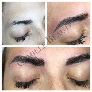 microblading, semi permanent eyebrows