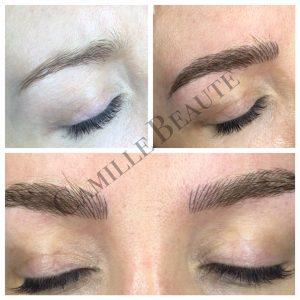 microblading eyebrows semi permanent eyebrows