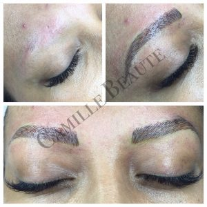 eyebrow embroidery london hair stroke eyebrows
