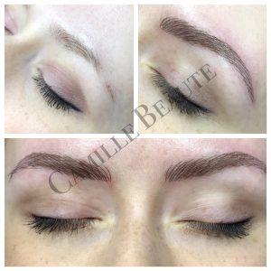 microblading eyebrows hair stroke eyebrows