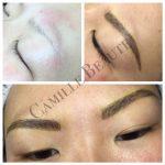 microblading, eyebrow makeup