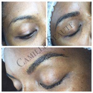 microblading eyebrows, semi permanent makeup