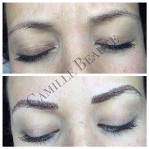 eyebrow embroidery london, hair stroke eyebrows