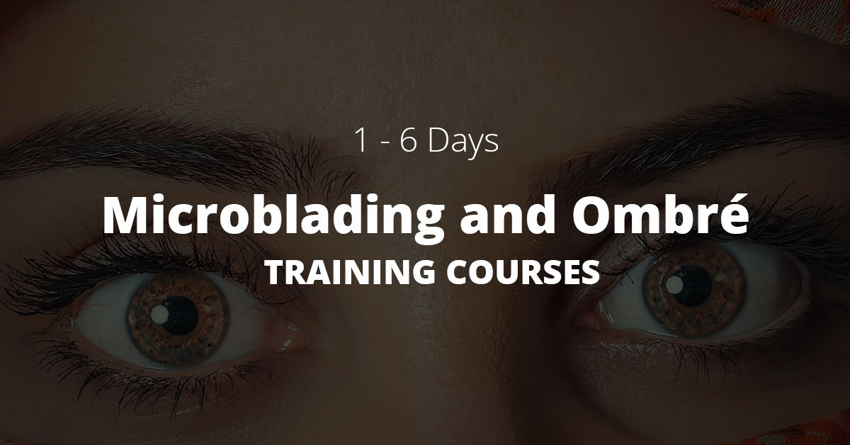 Microblading and OMBRÉ training courses London
