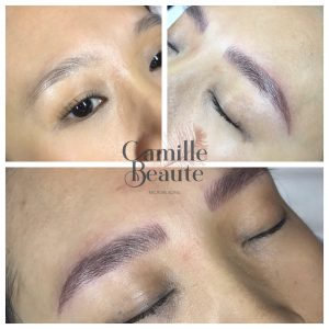 Camille beaute microblading final