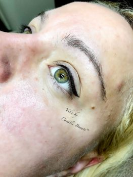 Microblading By Vika Semi Permanent Eyebrows London Final 2