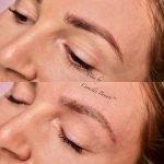 Microblading By Vika Semi Permanent Eyebrows London Final 3